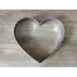 Foremka metalowa serce 20cm...