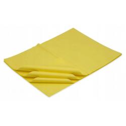 Bibuła gładka żółta do...
