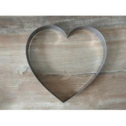 Foremka metalowa serce 15cm...