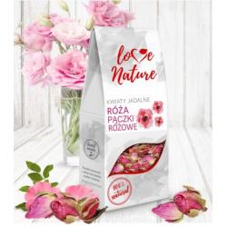 Kwiaty jadalne - Róża...