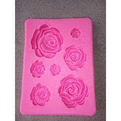 Foremka silikonowa- róże