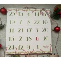 Kalendarz adwentowy z lizakami