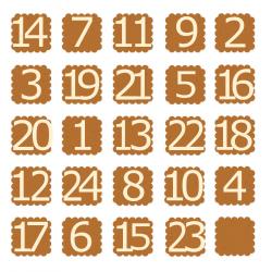 Kalendarz adwentowy -...