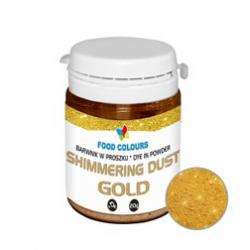 SHIMMERING DUST GOLD...